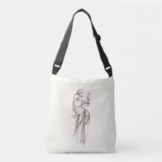 tribal fusion gypsy dancer crossbody bag