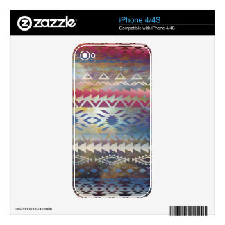 Tribal Galaxy Decals For The iPhone 4S