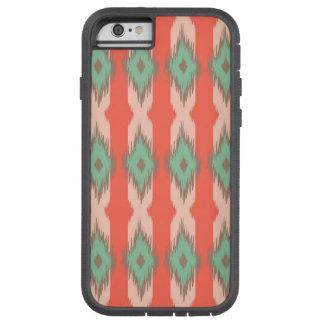Tribal geometric diamond stripes Aztec pattern Tough Xtreme iPhone 6 Case