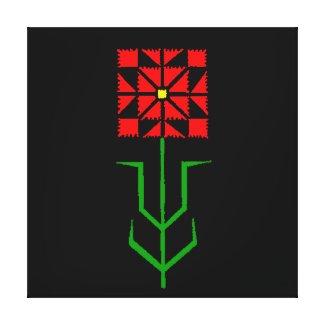 tribal geometric ethnic art canvas prints