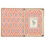 Tribal geometric ikat Aztec chevron pattern iPad Air Covers