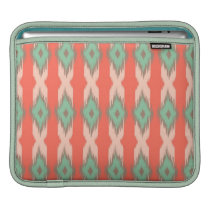 Tribal geometric ikat girly abstract Aztec pattern Sleeve For iPads
