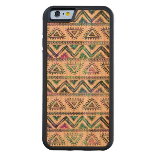 Tribal Geometric Pattern Hand Illustration 2 Carved® Cherry iPhone 6 Bumper Case