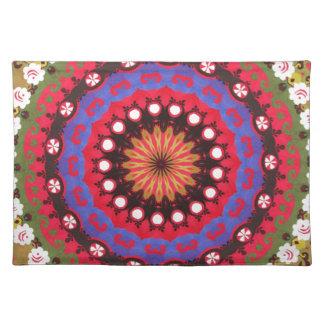 Tribal, geométrico, Santa Fe, modelo Mantel Individual