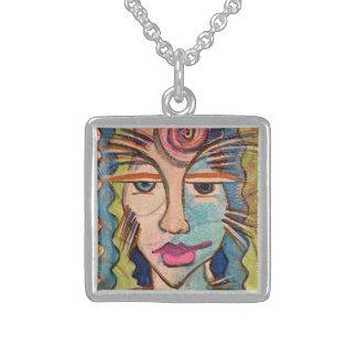 Tribal Goddess Pendant Necklace