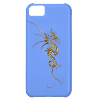 Tribal Gold Dragon Fantasy Art iPhone Case iPhone 5C Covers