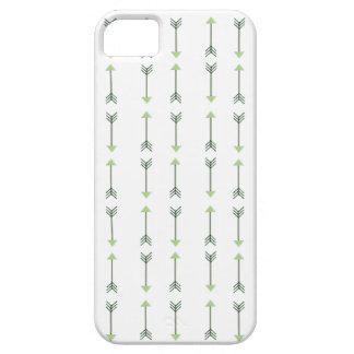 Tribal green Arrow Pattern iPhone 5 Case