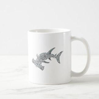 Tribal Hammerhead Shark Mug