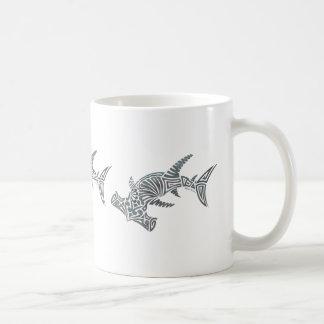 Tribal Hammerhead Shark Wrap Mug
