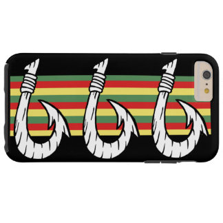Tribal Hawaiian Fish Hook Tough iPhone 6 Plus Case