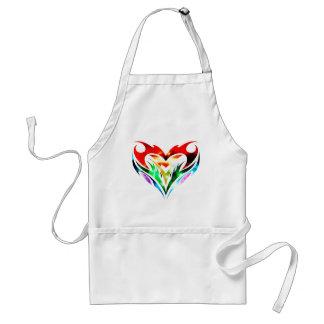 Tribal Heart Adult Apron