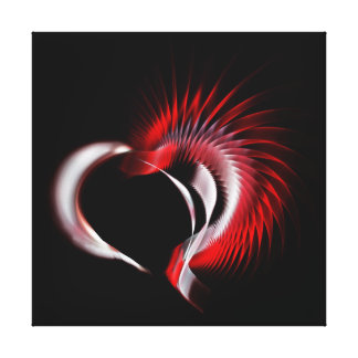 Tribal Heart Canvas Print