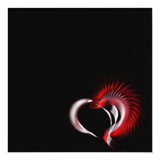 Tribal Heart Card