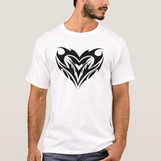 Tribal Heart Design T-Shirt