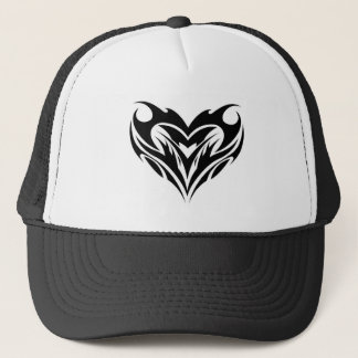 Tribal Heart Design Trucker Hat