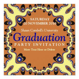 Tribal Heart Gathering Graduation Invitation