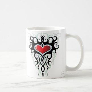 Tribal Heart Mug
