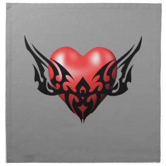 Tribal Heart Napkins