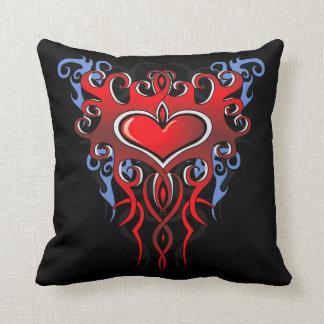 Tribal Heart Pillow #2