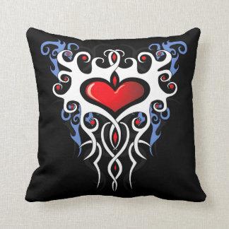 Tribal Heart Pillow #3