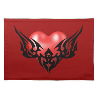 Tribal Heart Placemat