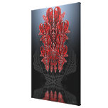 Tribal Hearts Wrapped Canvas Gallery Wrap Canvas