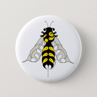 Tribal honey bee button