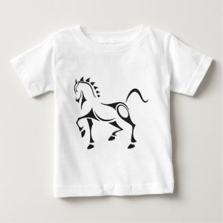 Tribal-Horse Baby T-Shirt