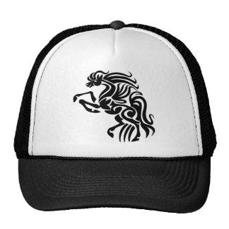 Tribal horse design trucker hat