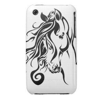 Tribal Horse iPhone 3 Cases