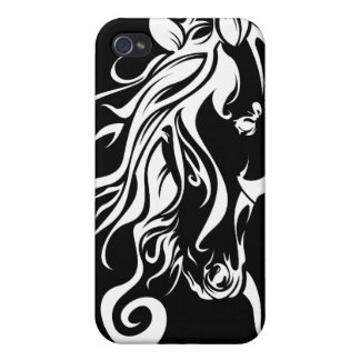 Tribal Horse iPhone 4 Cases