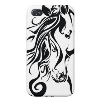 Tribal Horse iPhone 4 Covers