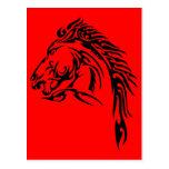 Tribal Horse Postcards