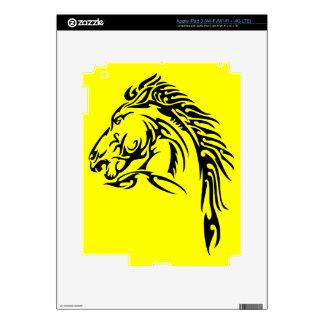 Tribal Horse Skin For iPad 3