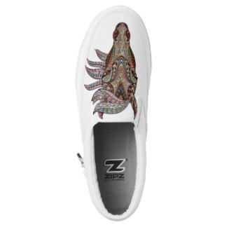Tribal Horse Slip-On Sneakers