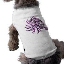 Tribal Horse Tattoo Purple Black T-Shirt