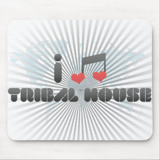 Tribal House Mouse Pad