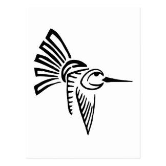 Tribal Hummingbird Postcards