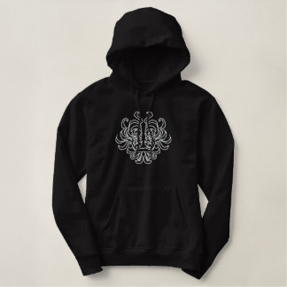 Tribal Idol Embroidered Hoodie