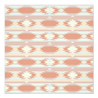 Tribal Ikat Aztec Andes patern Card