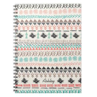 Tribal Ikat Doodles Notebook