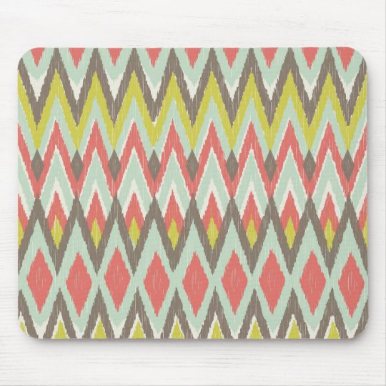 Tribal Ikat Mouse Pad