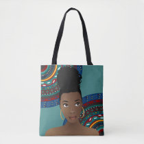 Tribal Inspired BunLife Tote Bag