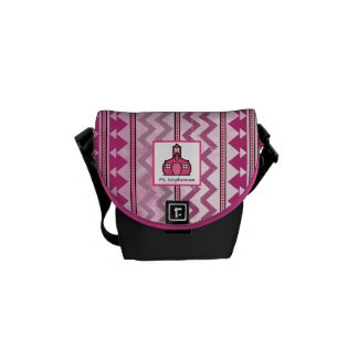 Tribal Inspired Personalized Mini Messenger Messenger Bags