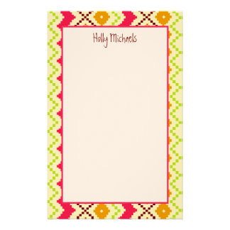 Tribal Inspired Personalized Stationery