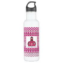 Tribal Inspired Personalized Teacher Stainless Steel Water Bottle