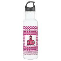 Tribal Inspired Personalized Teacher Water Bottle