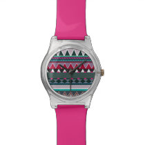 Tribal Inspired Wrist Watch
