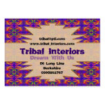 Tribal Interiors 2 Profile Card Large Business Cards (Pack Of 100)