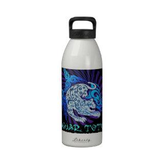 Tribal Jaguar totem Reusable Water Bottle